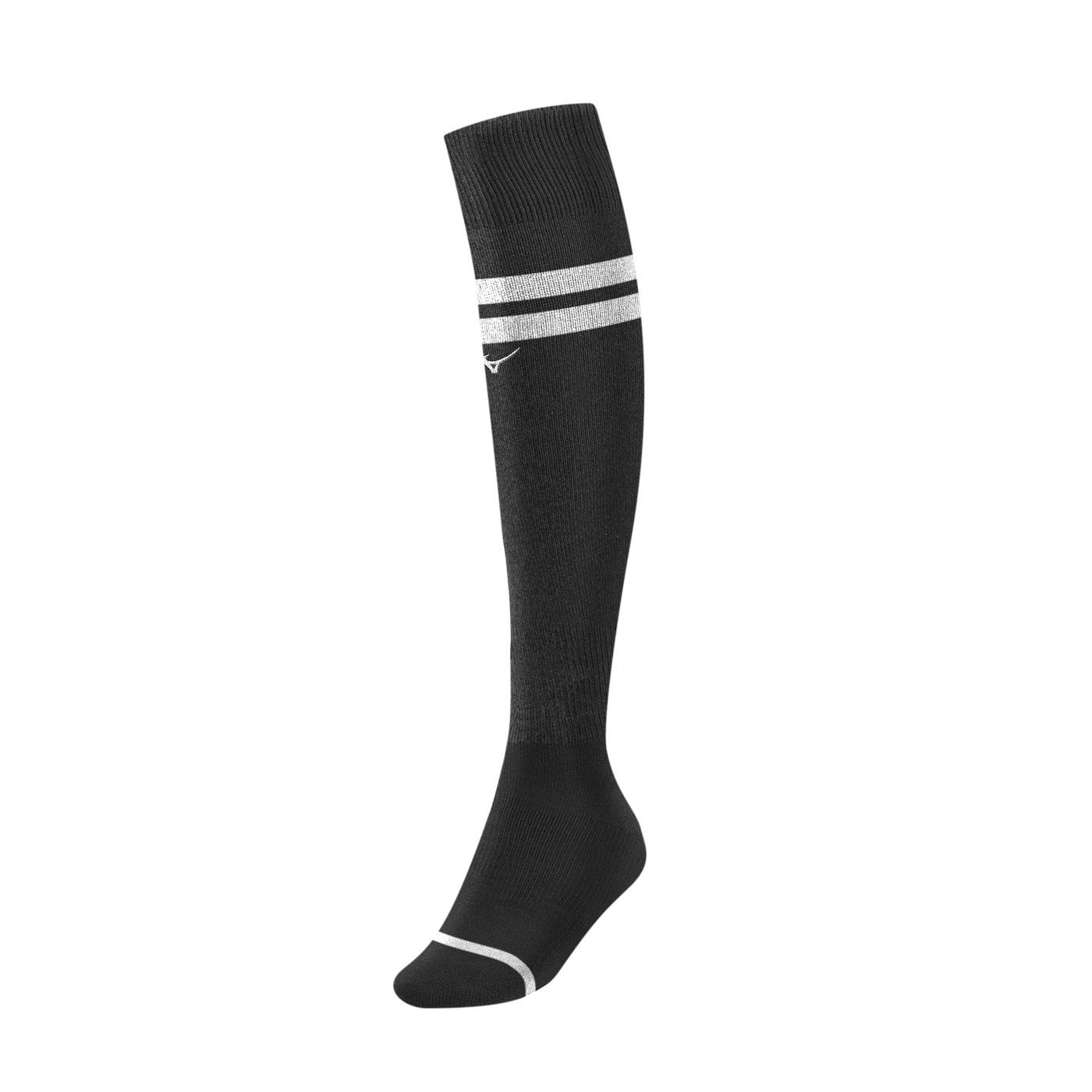 MIZUNO 足橄襪 P2TX8A0191 - 黑白