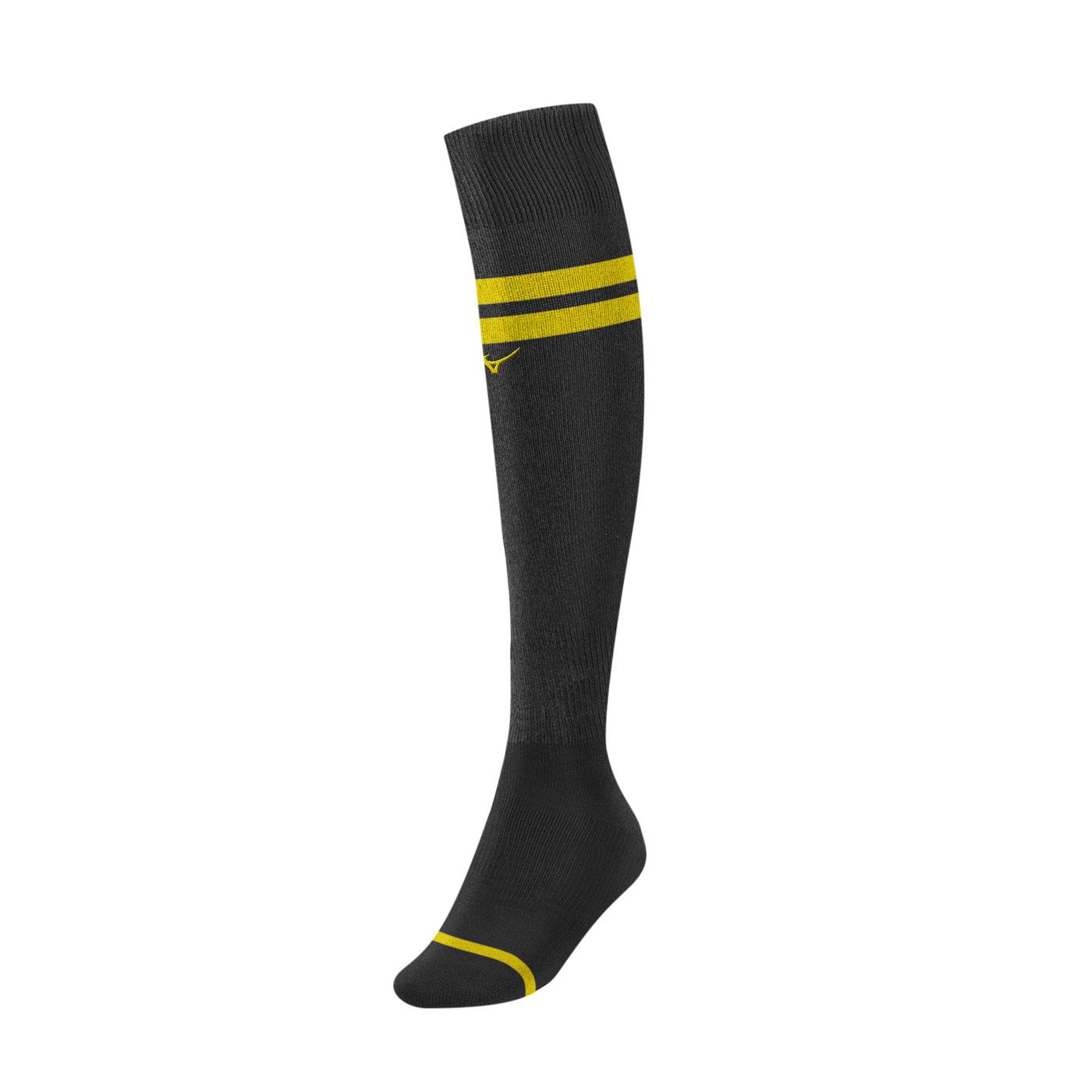 MIZUNO 少年足橄襪 P2TX8A0291 - 黑黃