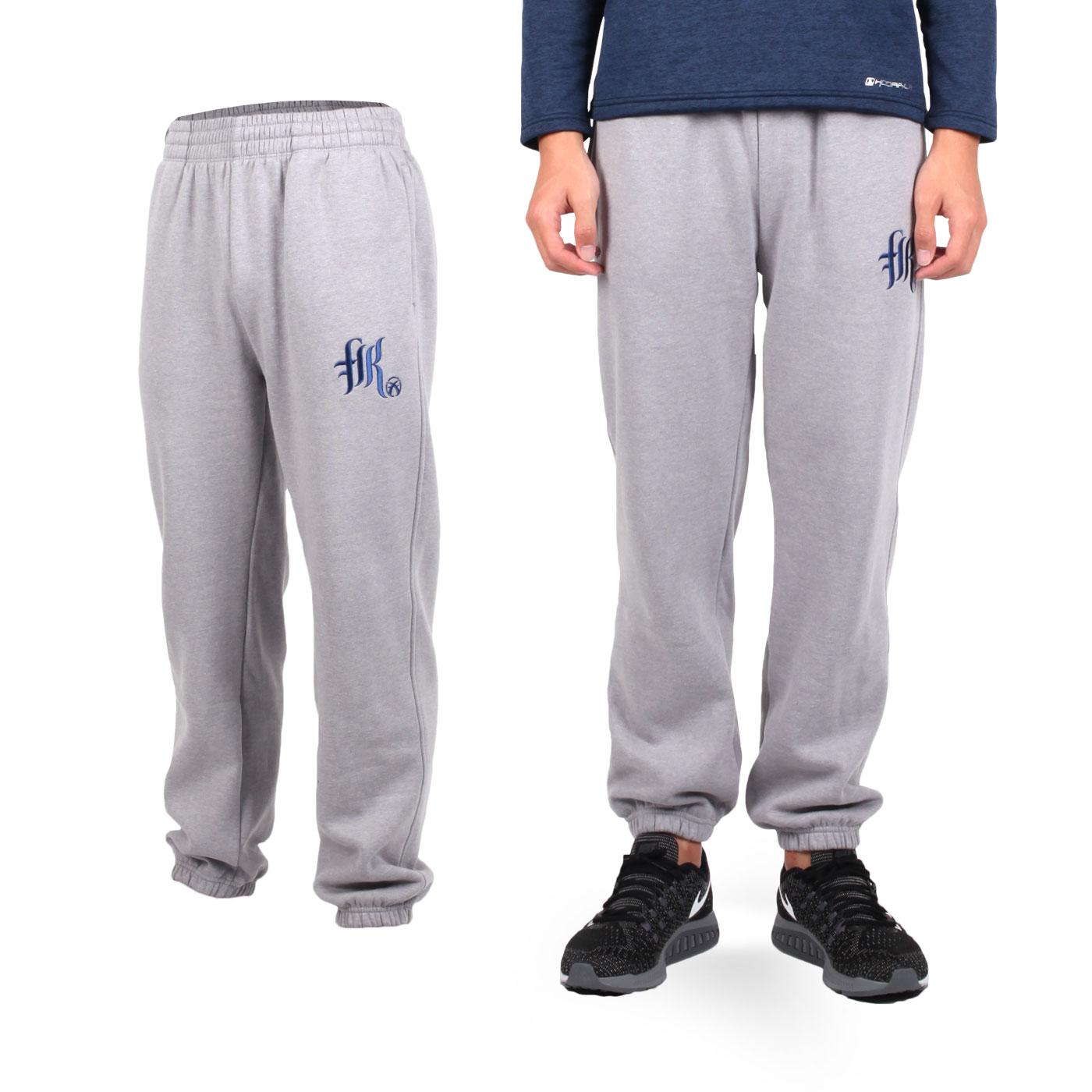 FIRESTAR 男款棉質內刷毛長褲 p5277-10 - 淺灰丈青