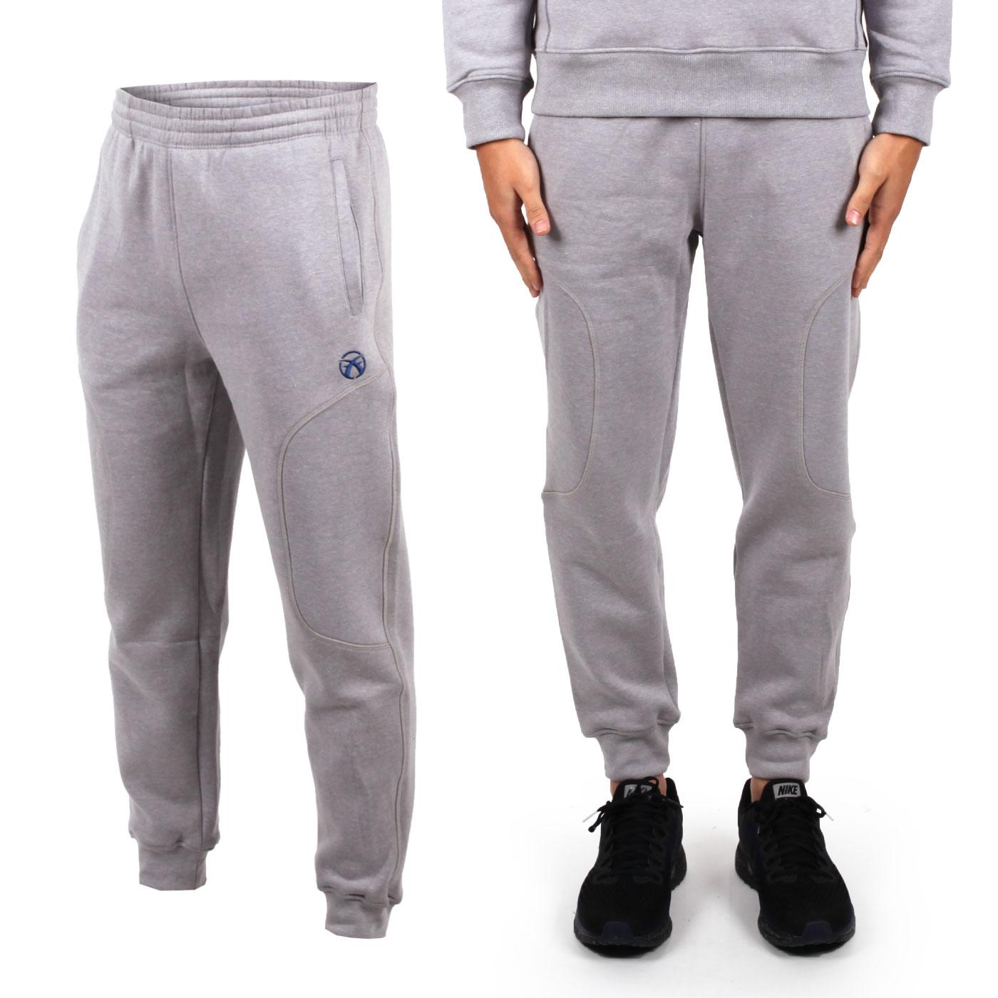 FIRESTAR 男高磅厚棉長褲 P6577-10 - 淺灰藍