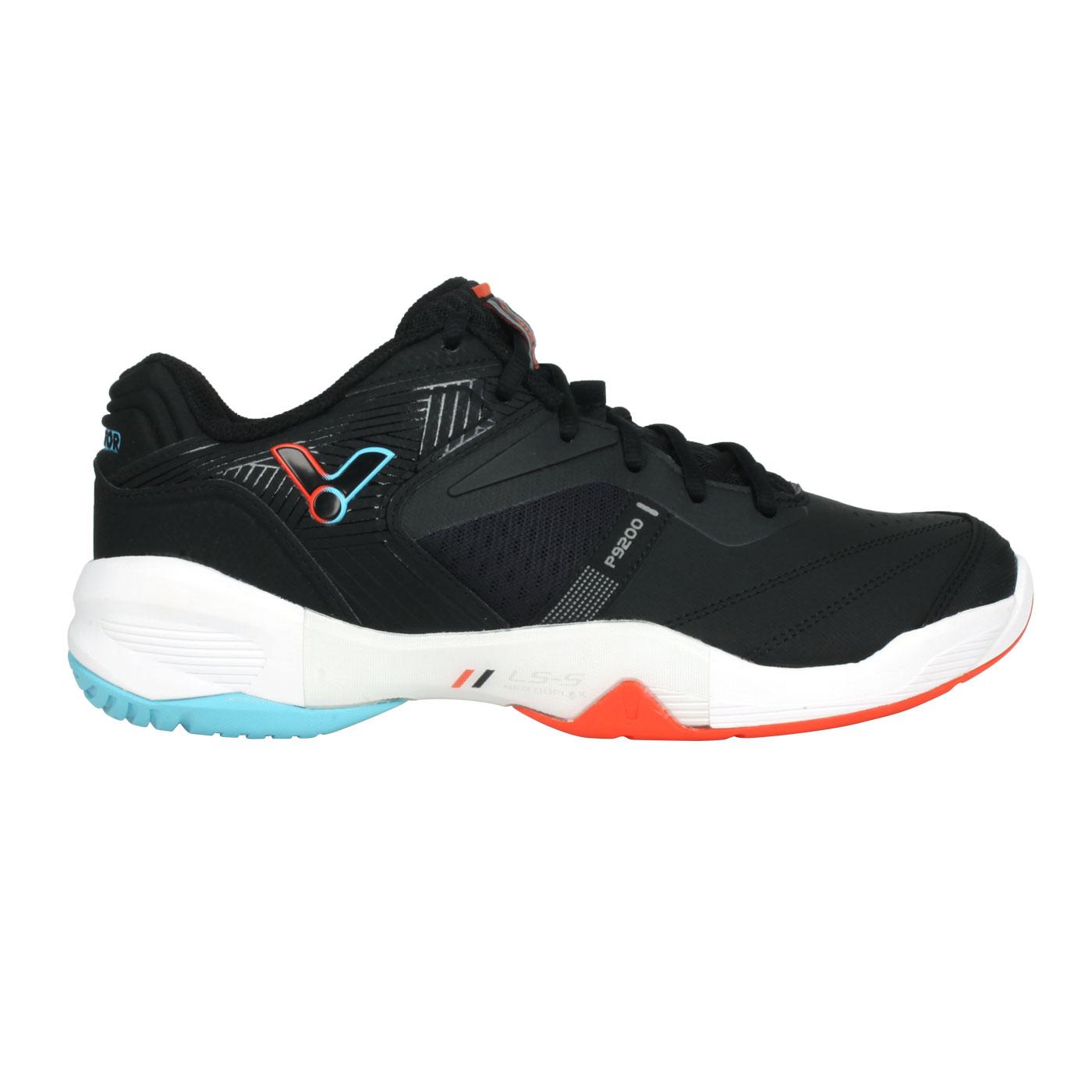 VICTOR 羽球鞋 P9200CC-CA - 黑橘藍