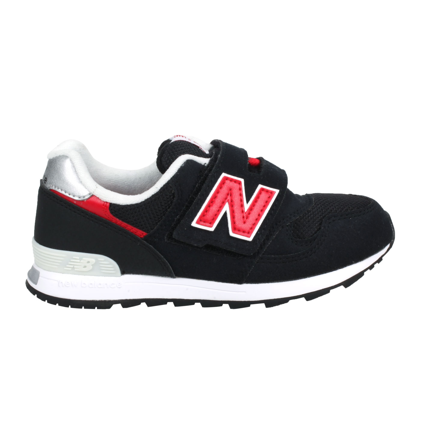NEW BALANCE 中童休閒運動鞋 PO313CR - 黑紅白