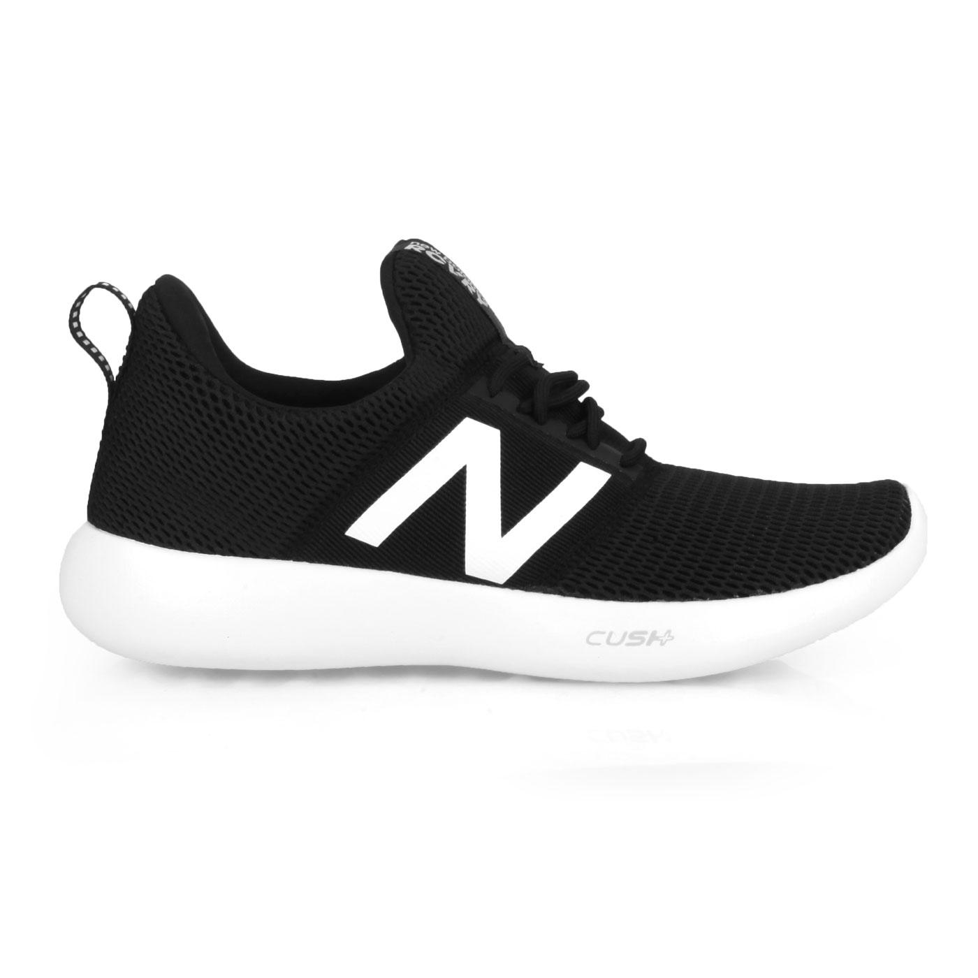 NEW BALANCE 男款休閒運動鞋-2E RCVRYB2 - 黑白