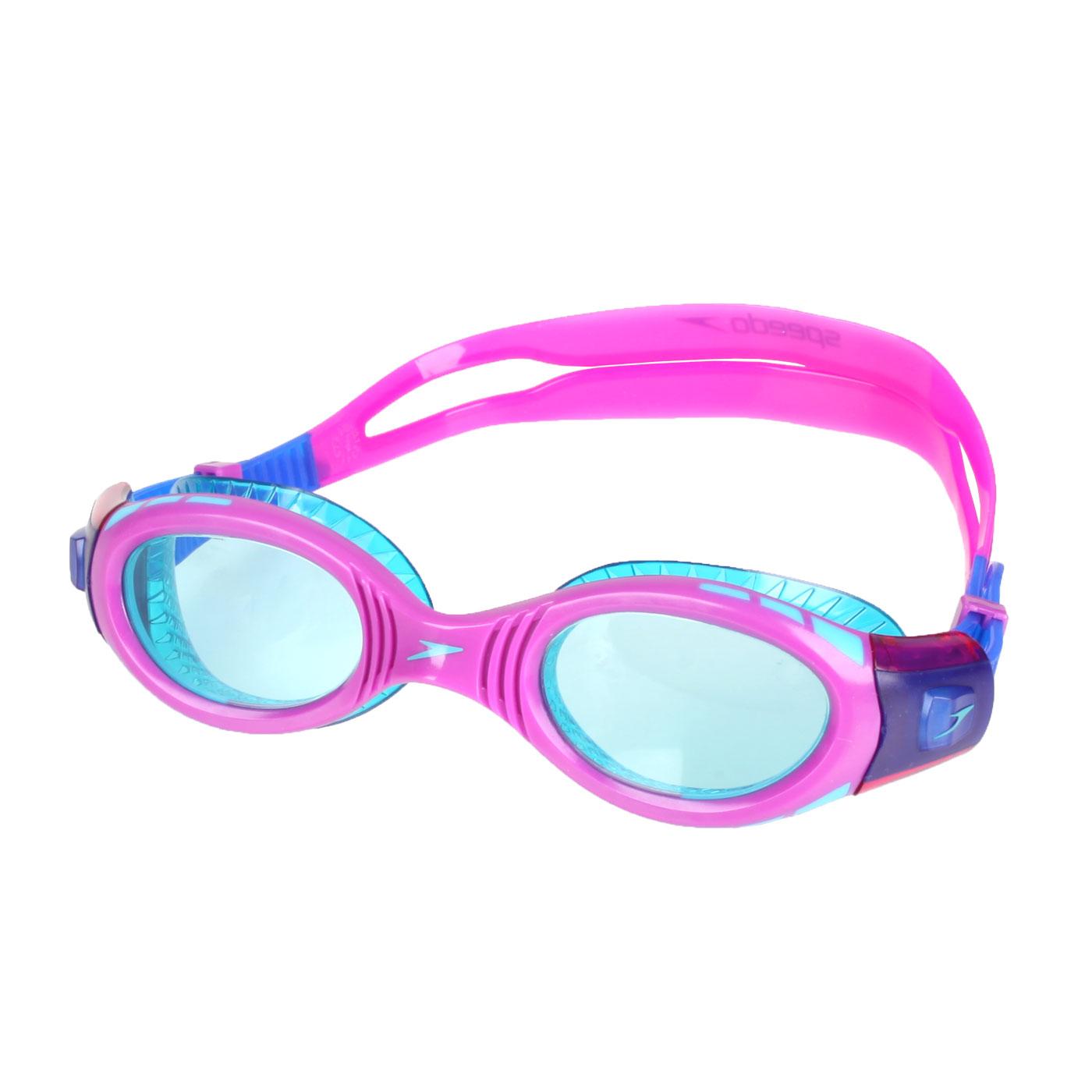 SPEEDO 兒童運動泳鏡 SD811595C585N - 紫湖水綠