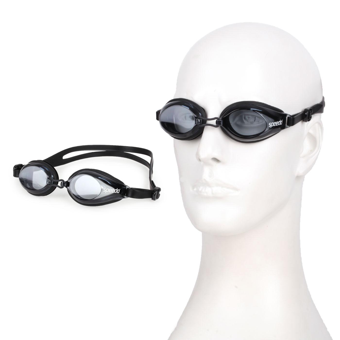 SPEEDO 成人泳鏡 SD8120047649 - 黑白