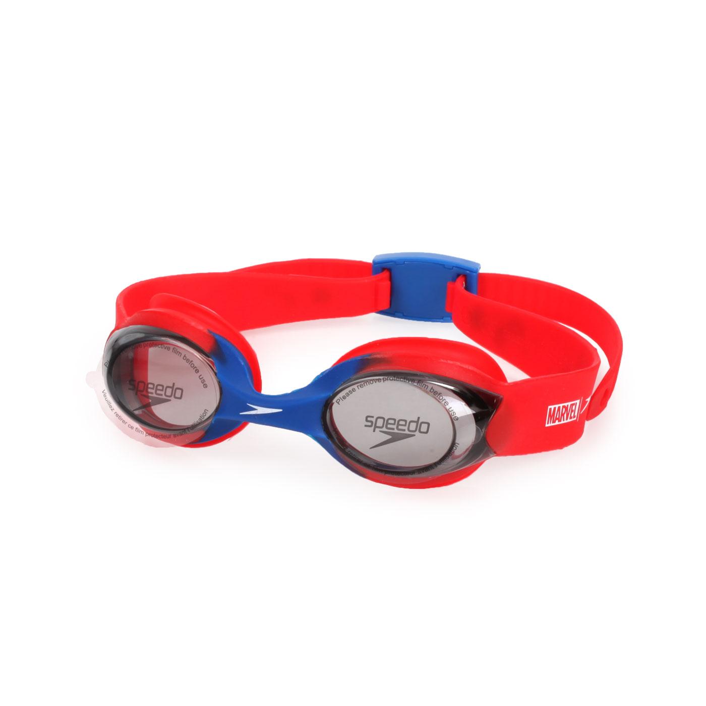 SPEEDO 幼童運動泳鏡-蜘蛛人 SD812115F278 - 紅藍白