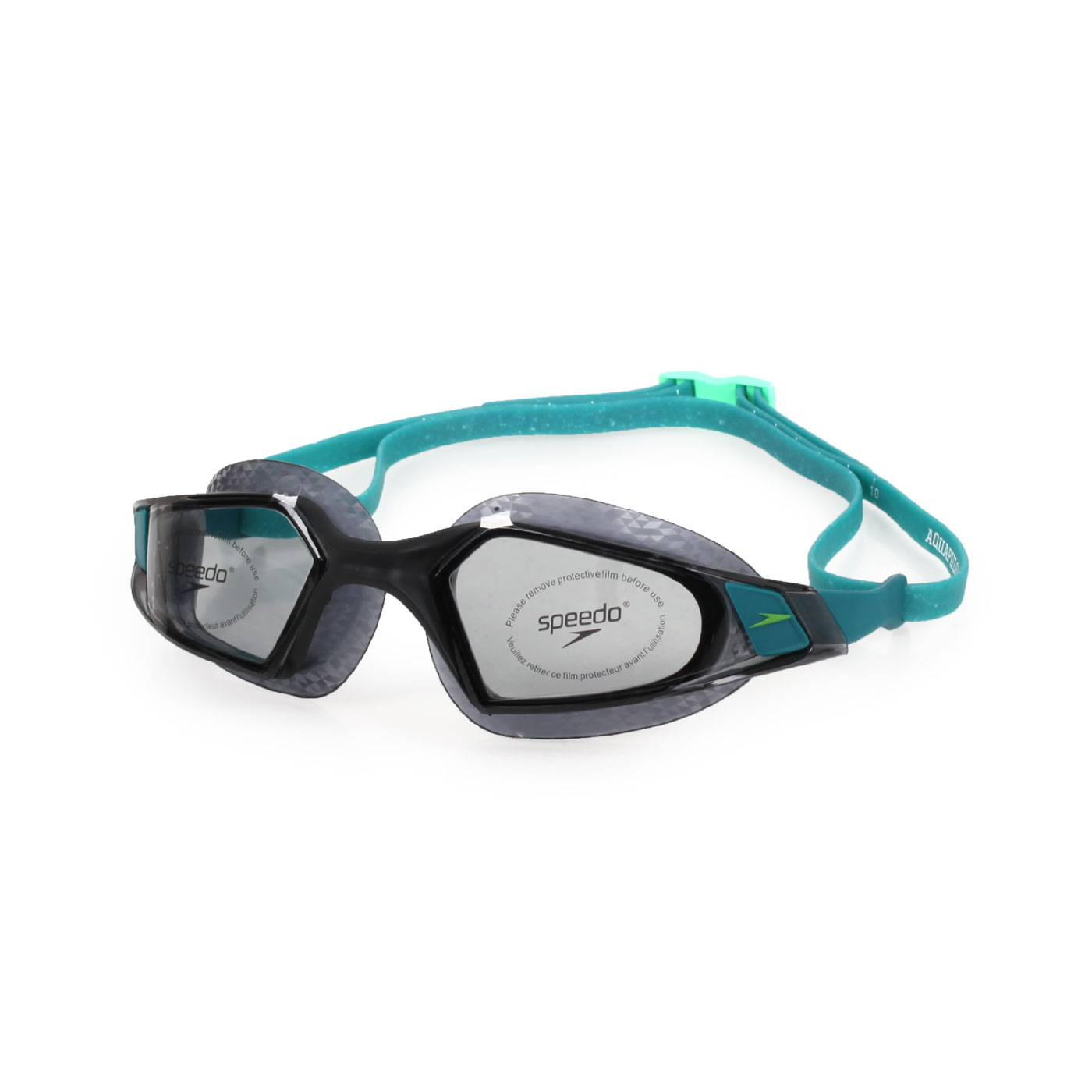 SPEEDO 成人運動泳鏡 Aquapulse Pro SD812266D640 - 黑湖水藍