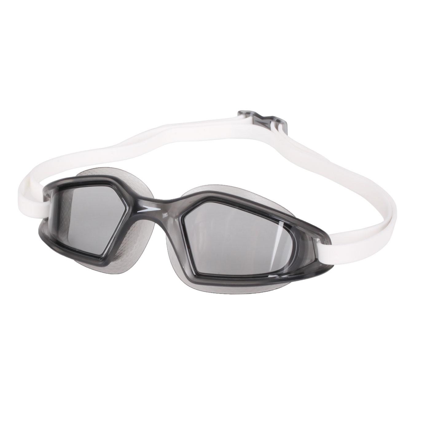 SPEEDO 成人運動泳鏡 SD812268D649 - 深灰白