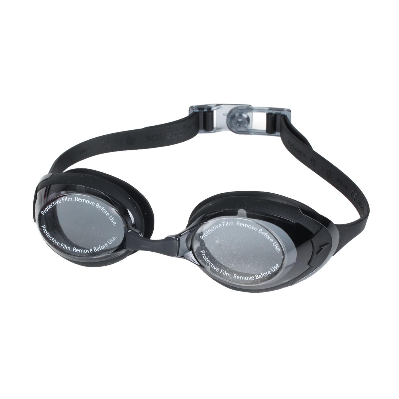 SPEEDO 成人運動泳鏡 SD8122727649 - 黑