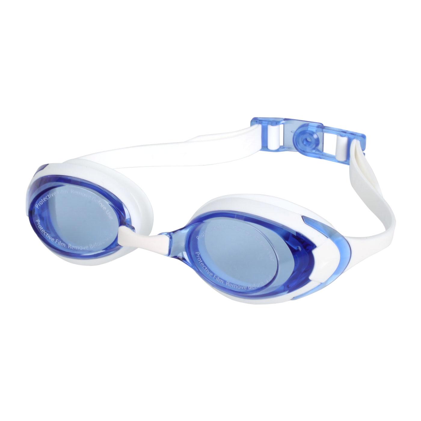 SPEEDO 成人運動泳鏡 SD812272D665 - 白藍