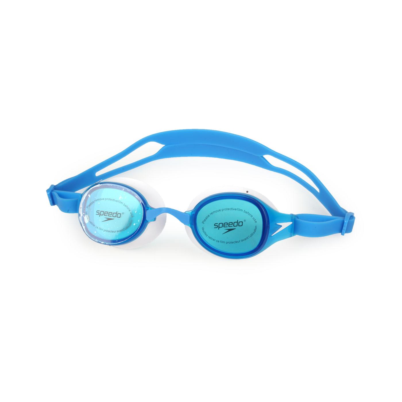 SPEEDO 成人運動泳鏡 SD812669D665 - 藍白