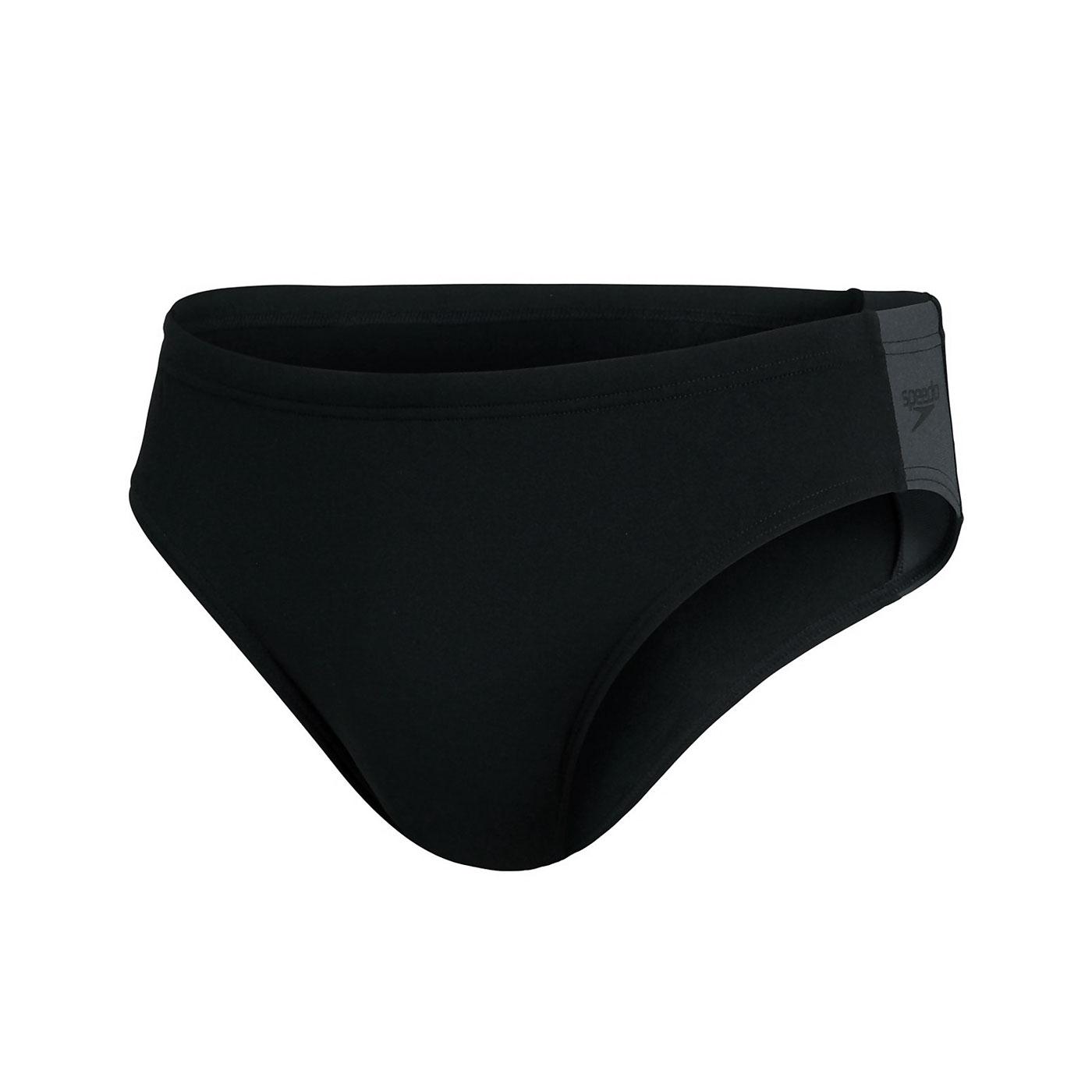 SPEEDO 男運動三角泳褲 SD8128249023 - 黑灰