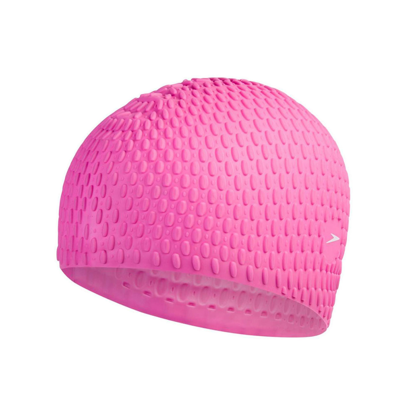 SPEEDO 成人矽膠泳帽 Bubble SD870929D669 - 桃紅白