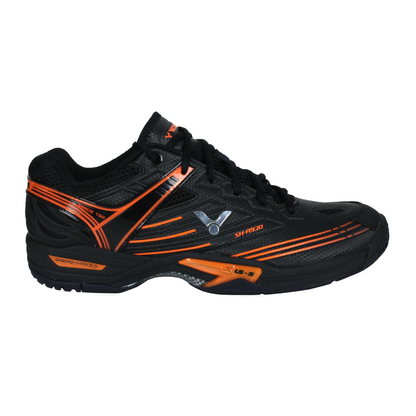 VICTOR 男款羽球鞋 SH-A920-C - 黑橘