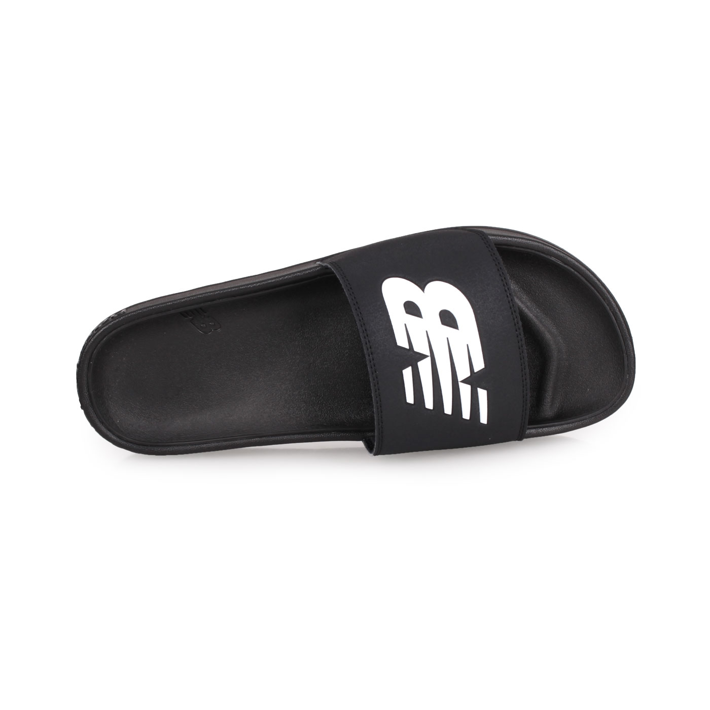 NEW BALANCE 運動拖鞋 SMF200B1 - 黑黑白