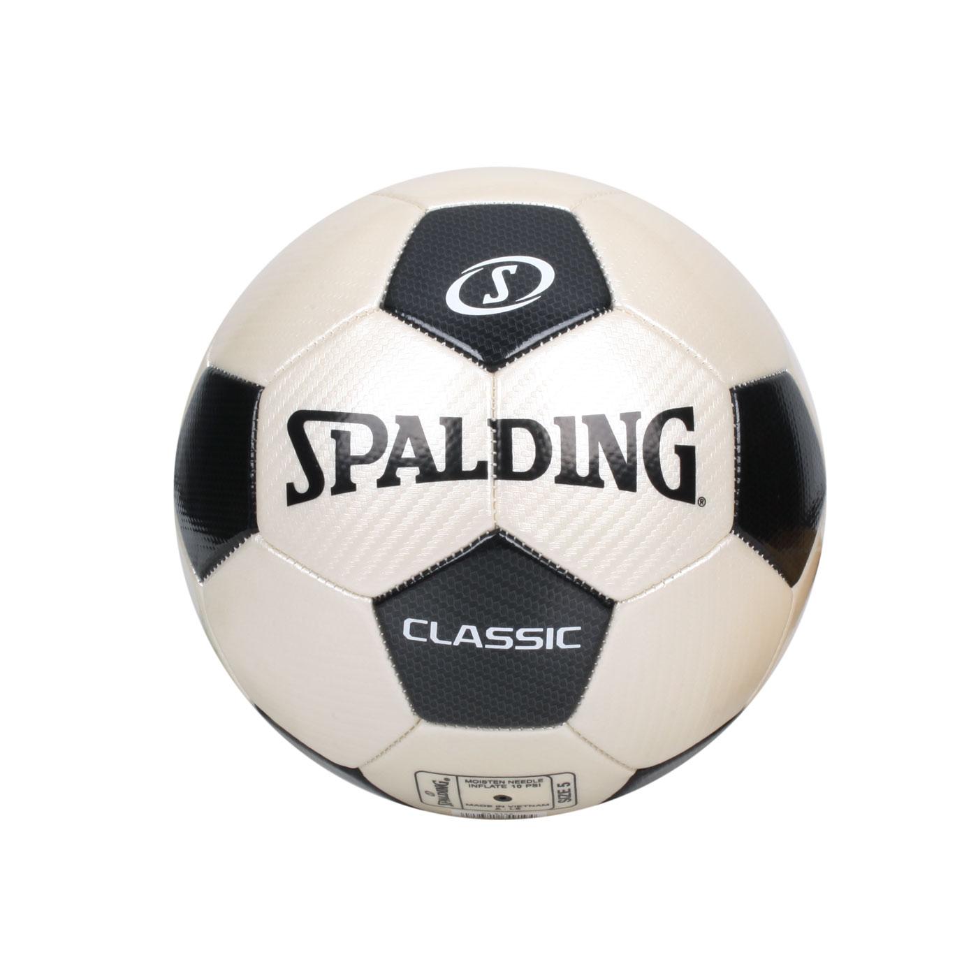 SPALDING 2.0經典#5號足球 SPA64919 - 米白黑