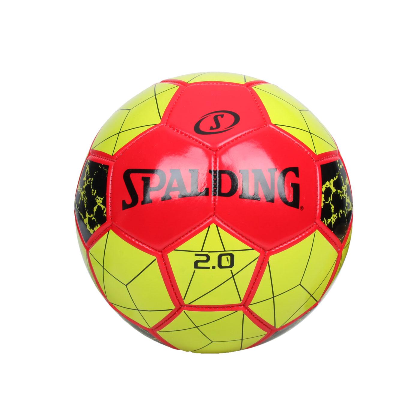 SPALDING 2.0#5號足球 SPA64950 - 綠紅