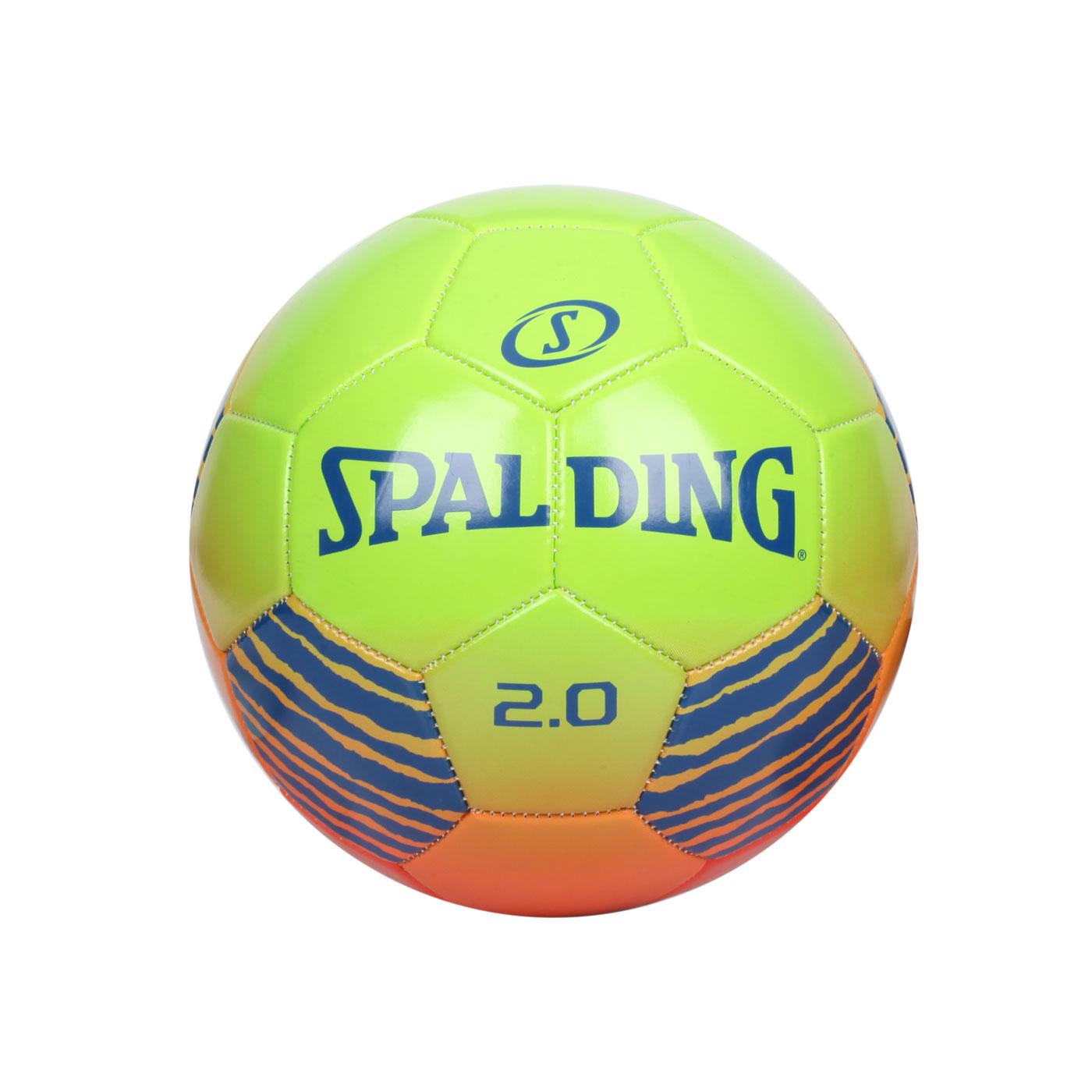 SPALDING 2.0#5號足球 SPA64951 - 紅橘藍綠