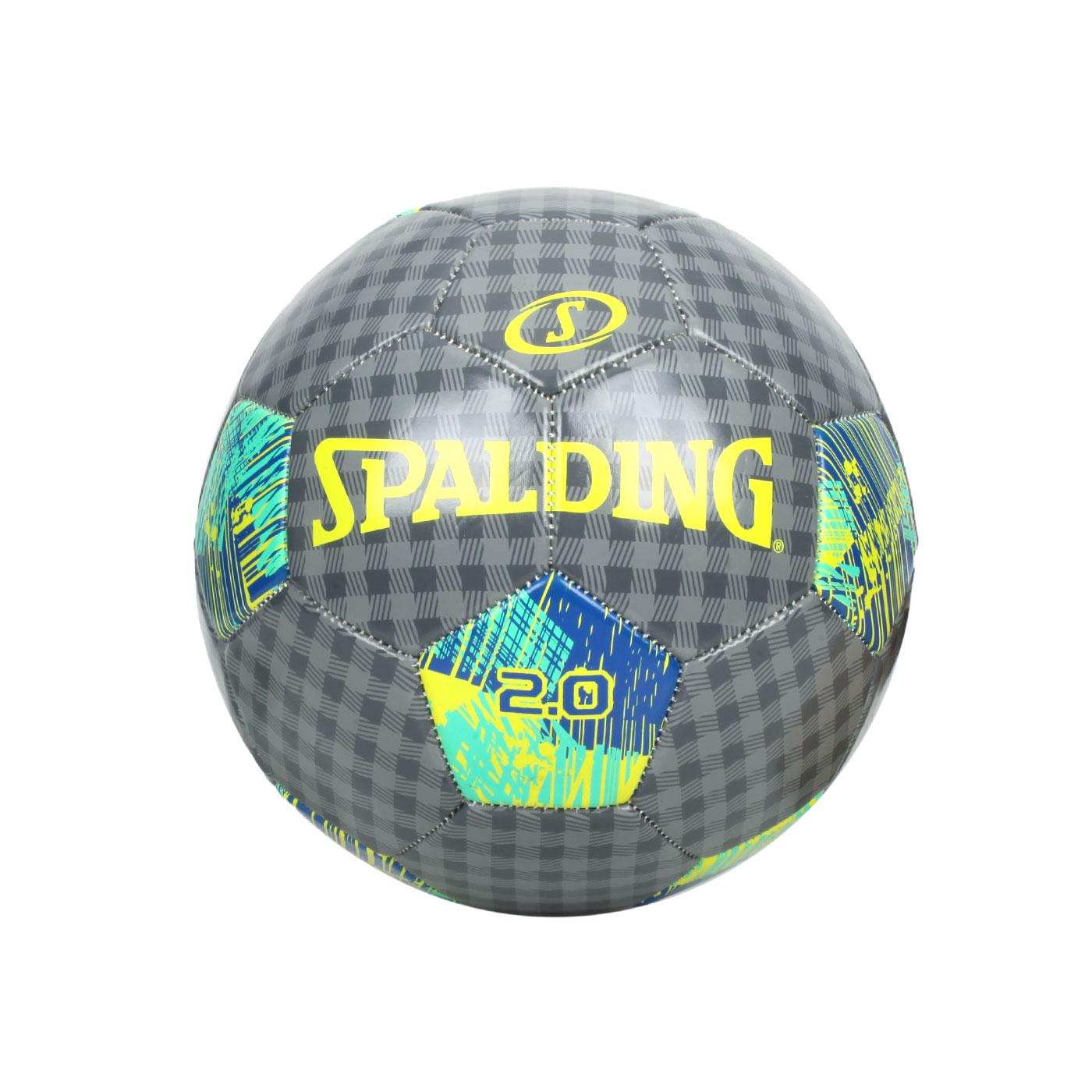 SPALDING 2.0#5號足球 SPA64953 - 深灰藍綠