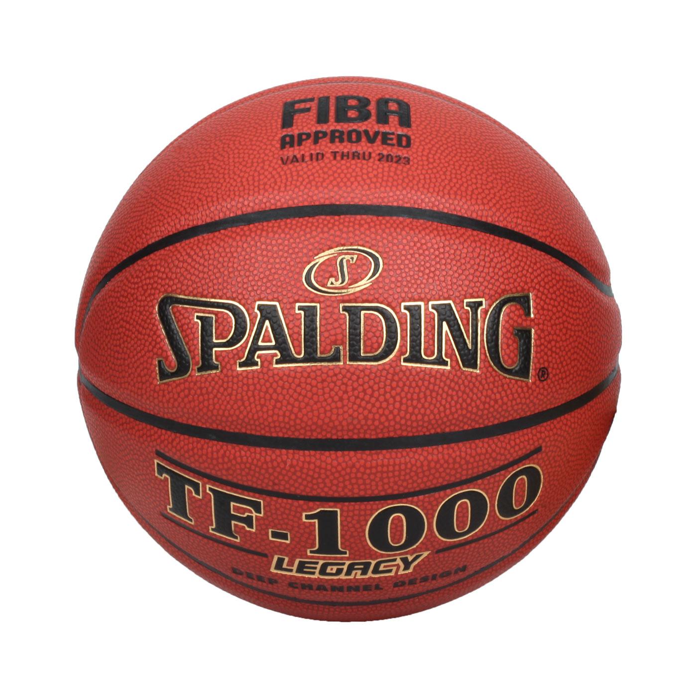 SPALDING TF-1000 Legacy 室內籃球#6號 SPA74451 - 暗橘黑金