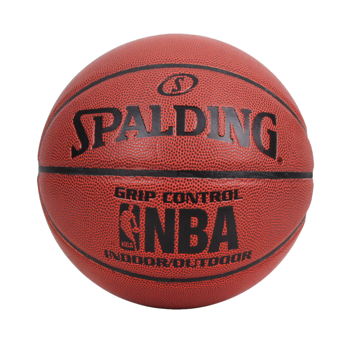 SPALDING NBA Grip Control PU籃球 #7 SPA74577 - 咖啡黑