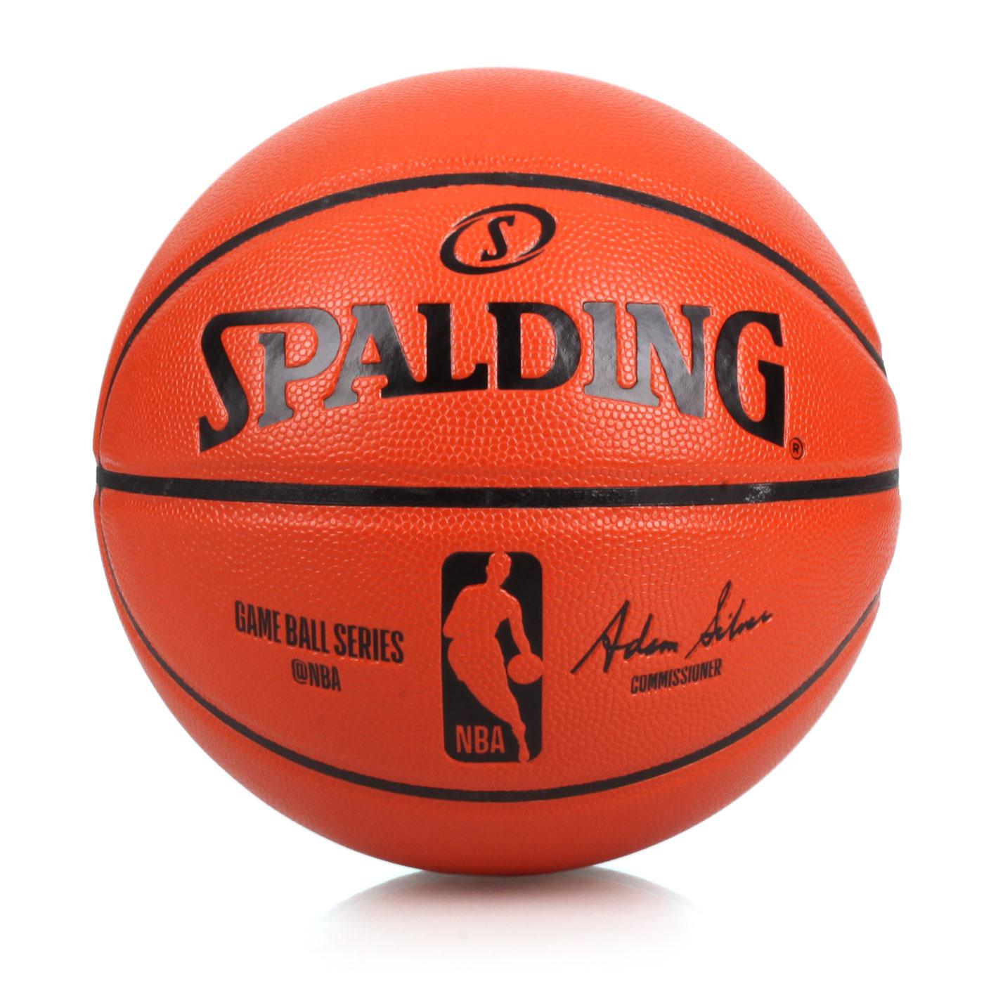 SPALDING NBA合成皮籃球#7 SPA74933 - 橘