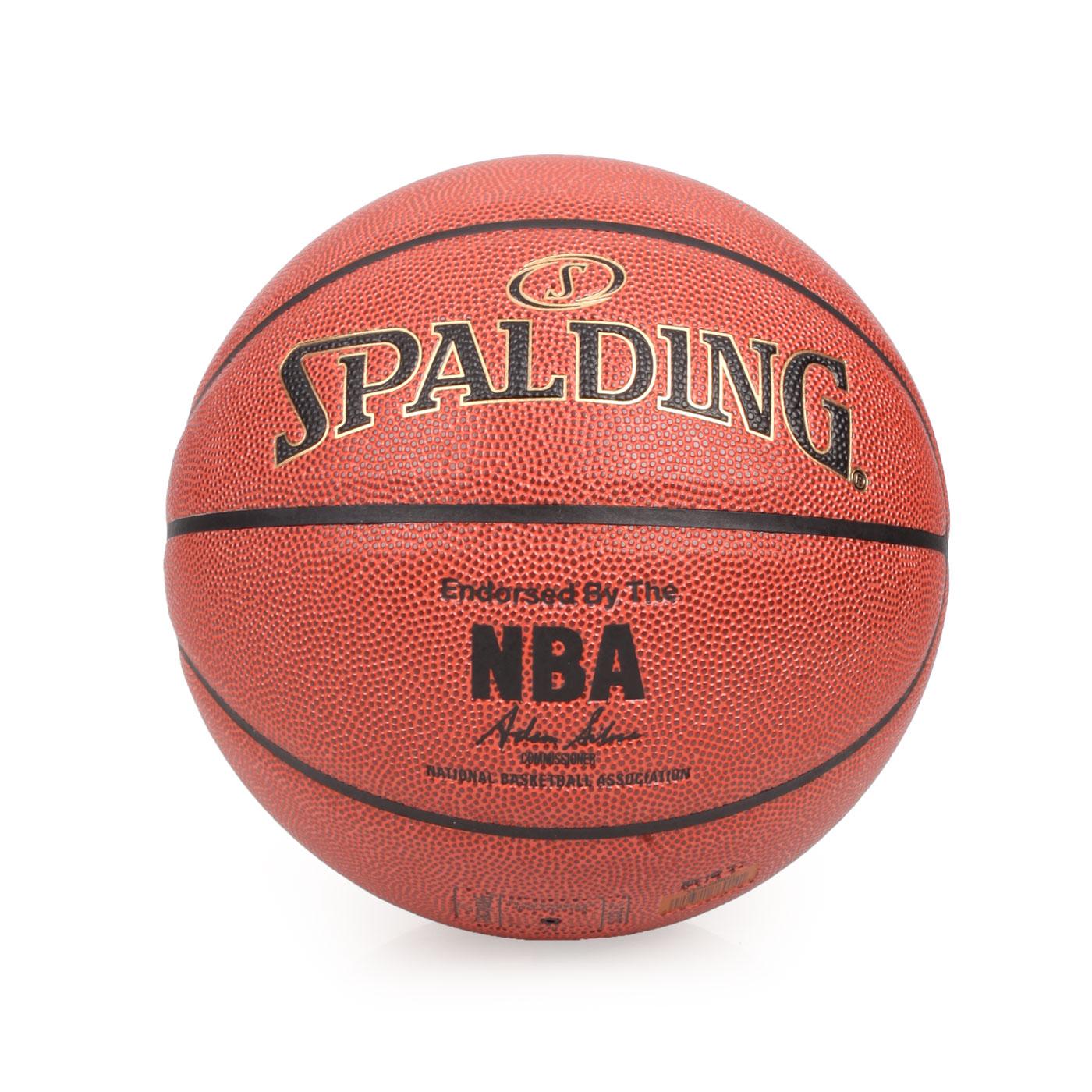 SPALDING NBA-PU 籃球 SPA76014 - 咖啡金