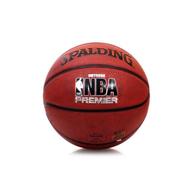 SPALDING NBA Premier 7號籃球 SPA83003 - 深橘