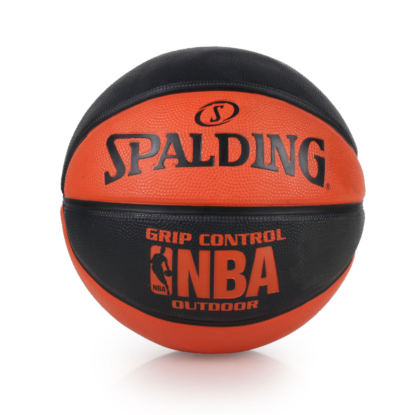 SPALDING NBA Grip Control Outdoor 籃球 SPA83081 - 黑橘