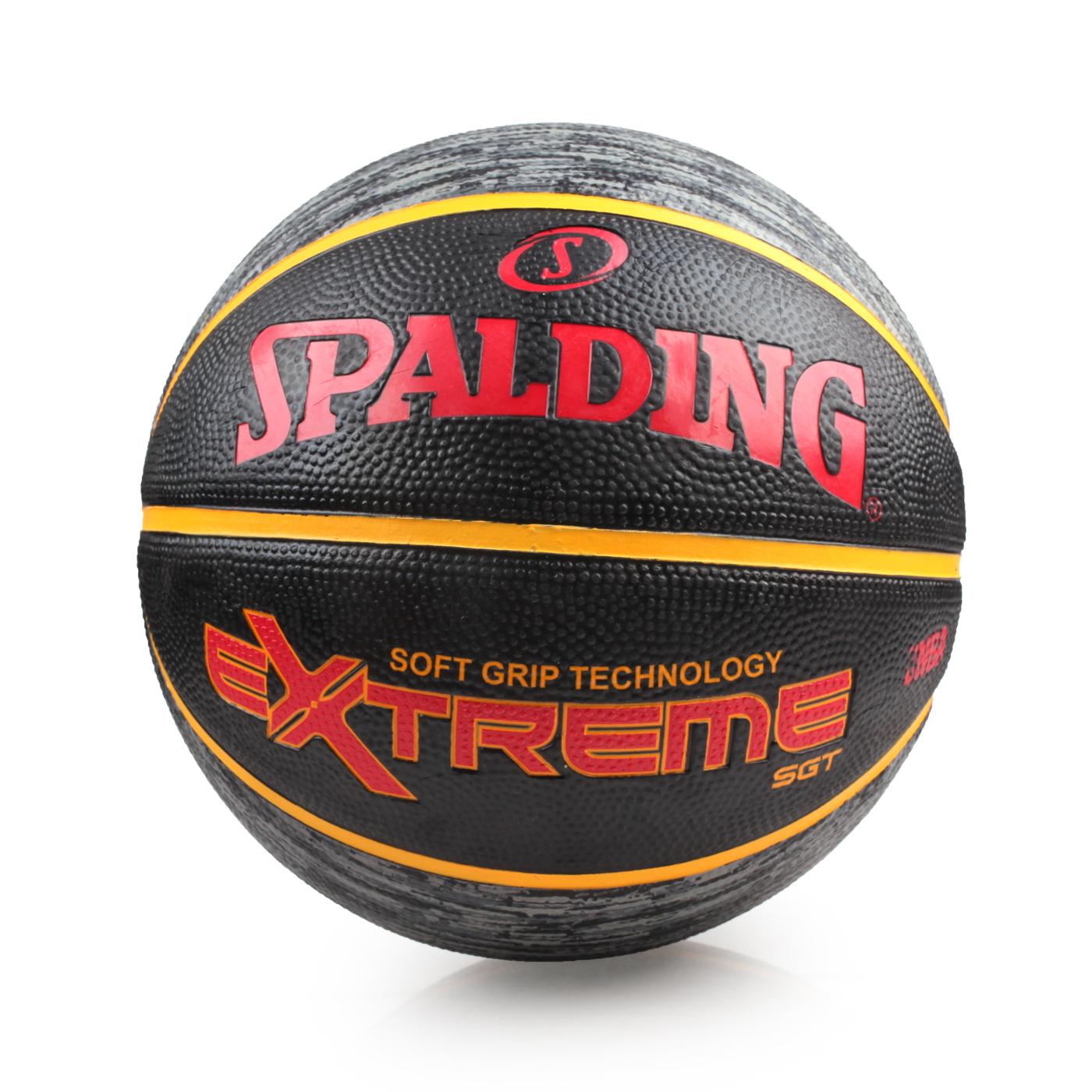 SPALDING SGT-Rubber 籃球 SPA83500 - 黑紅黃