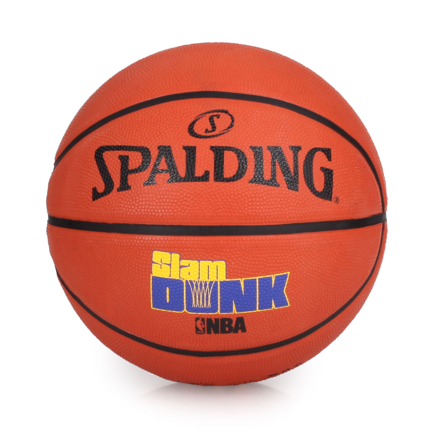 SPALDING Game Time系列-Slam Dunk 籃球 SPA83526 - 橘藍黃