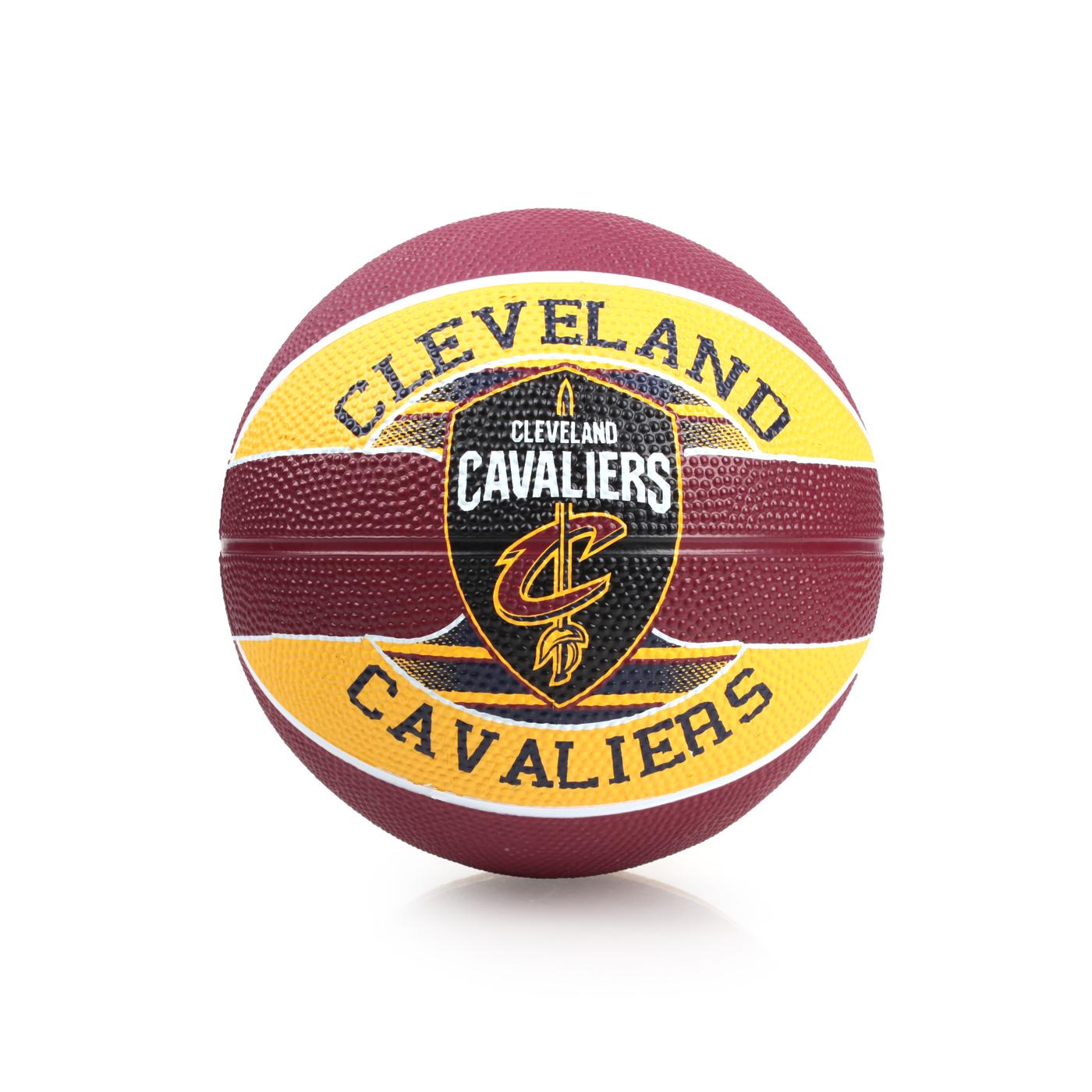 SPALDING 兒童-騎士 Cavaliers SZ3 籃球 SPA83603 - 咖啡黃