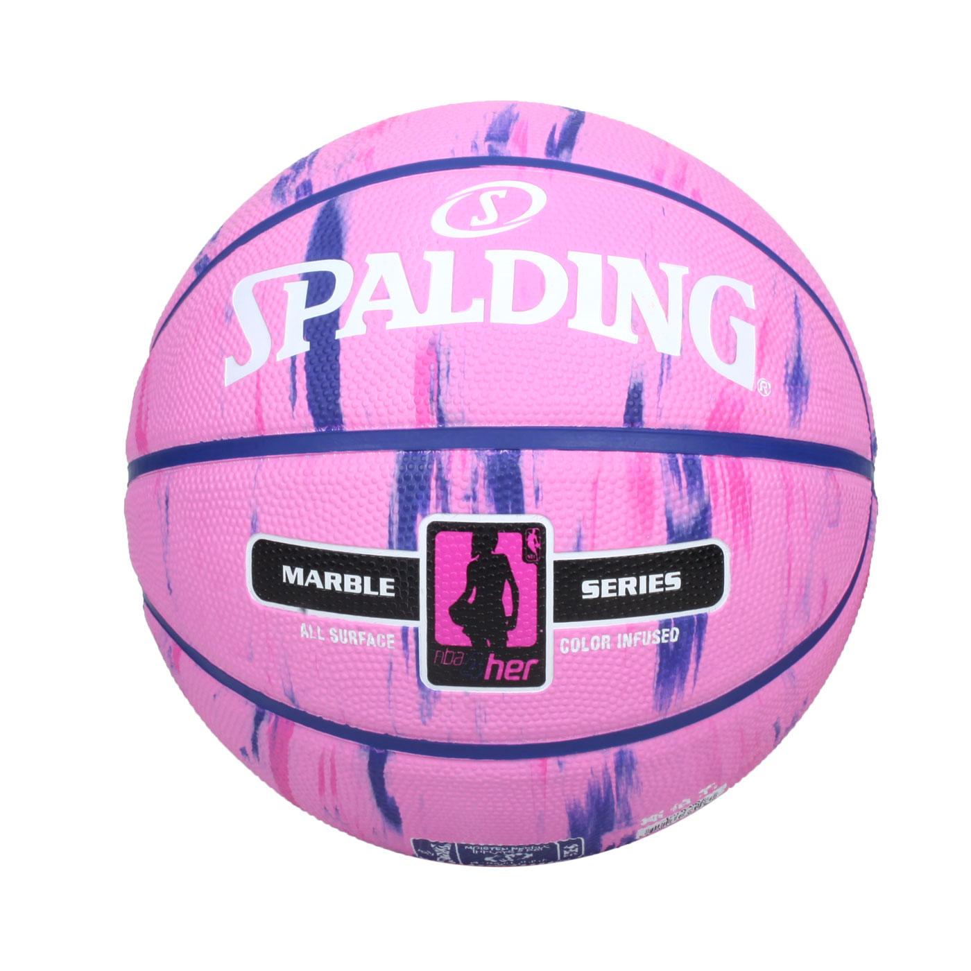 SPALDING NBA 4Her #6號女用橡膠籃球 SPA38208 SPA83877 - 粉紫白