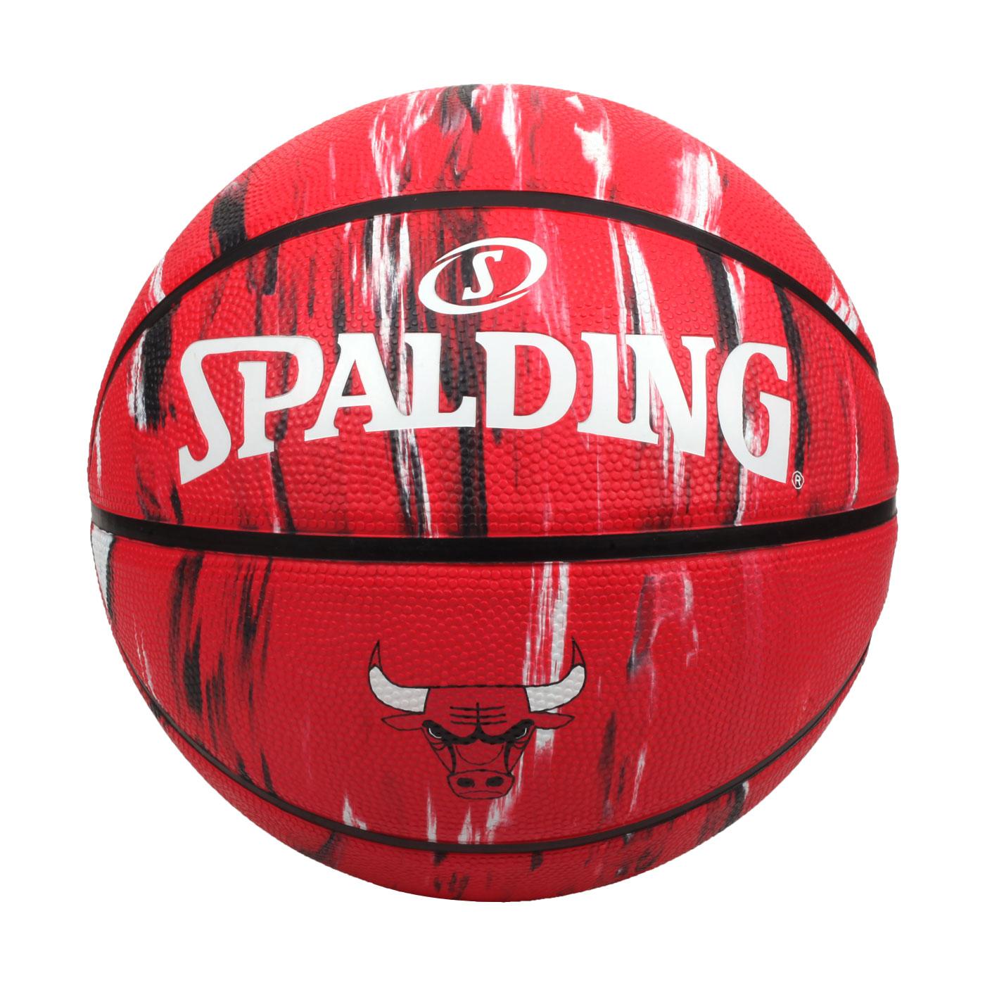 SPALDING NBA隊徽-公牛 #7籃球 SPA39670 SPA84127 - 紅白黑