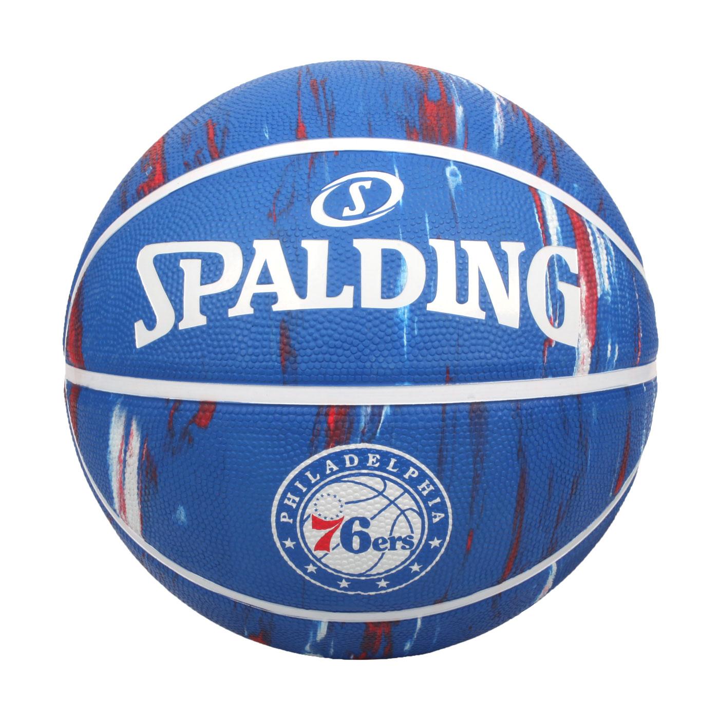 SPALDING NBA隊徽-76人 #7籃球 SPA39738 SPA84149 - 藍紅白