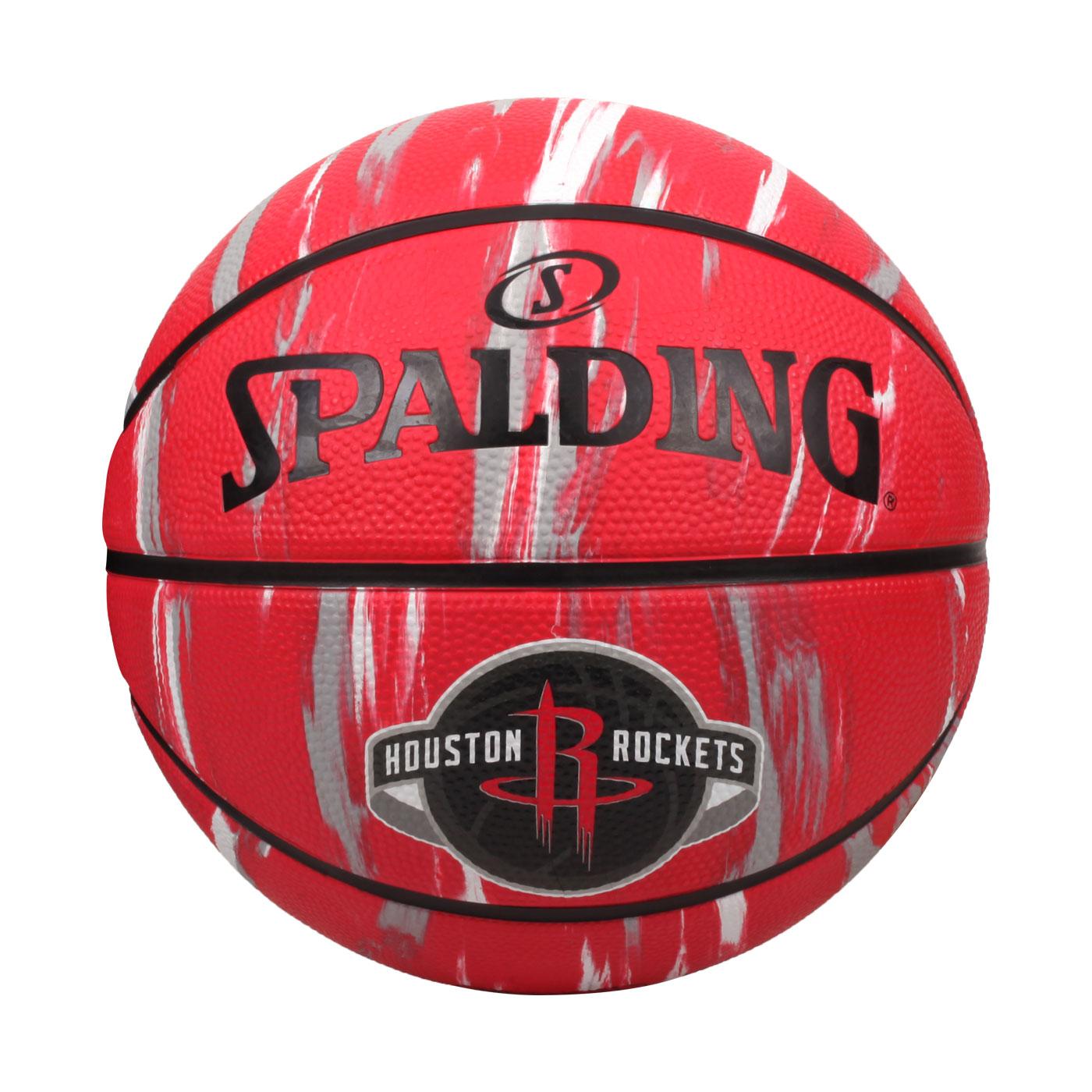 SPALDING NBA隊徽-火箭 #7籃球 SPA39739 SPA84150 - 紅黑白灰