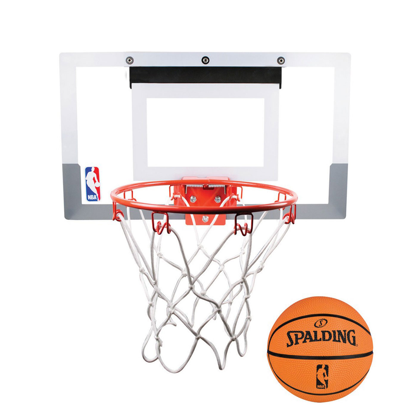 SPALDING NBA室內小籃板 SPB56099 - 白橘