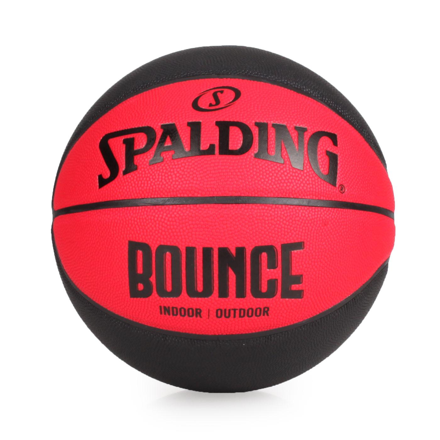 SPALDING Bounce 籃球-PU #7 SPB91002 - 紅黑