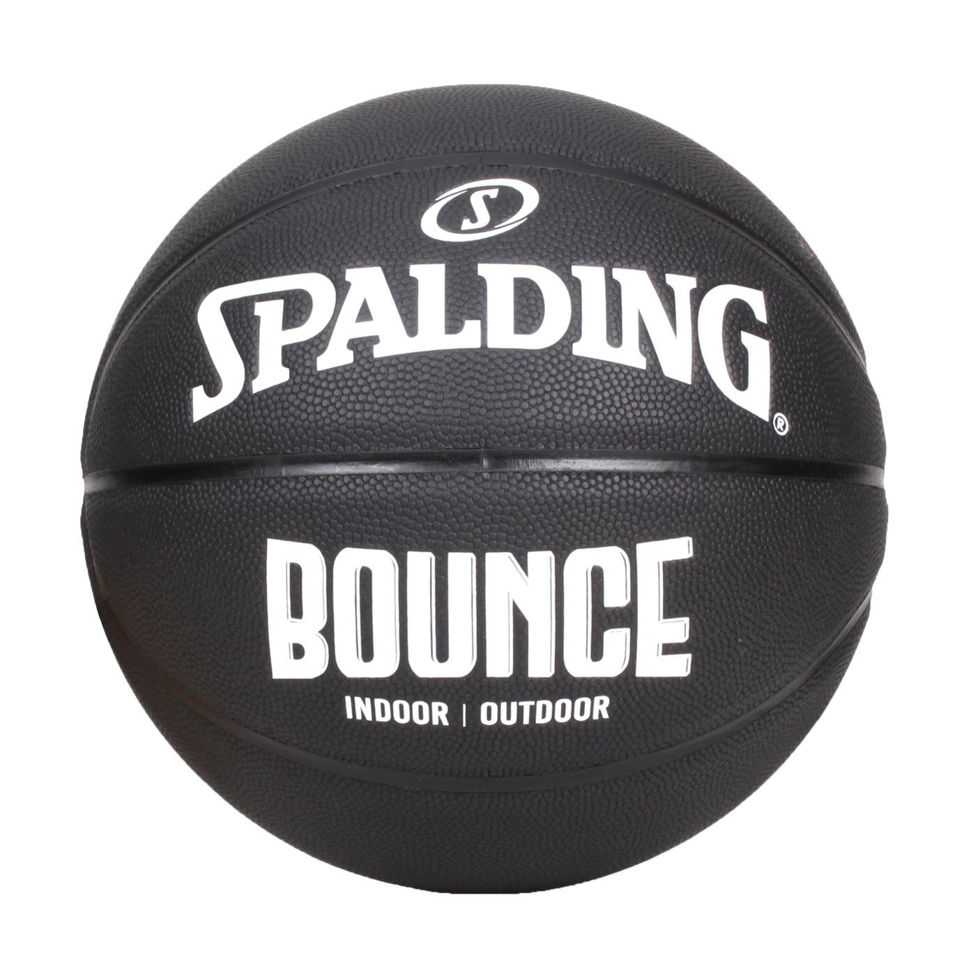 SPALDING Bounce 籃球-PU SPB91005 - 黑白