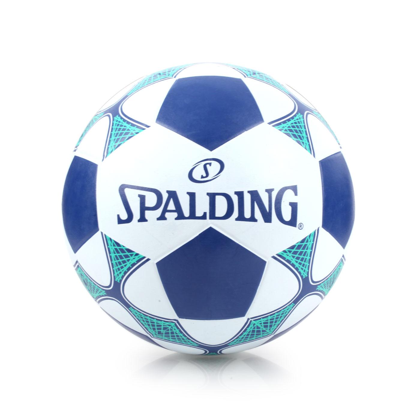 SPALDING Team 足球 #5 SPBC5002 - 白丈青綠