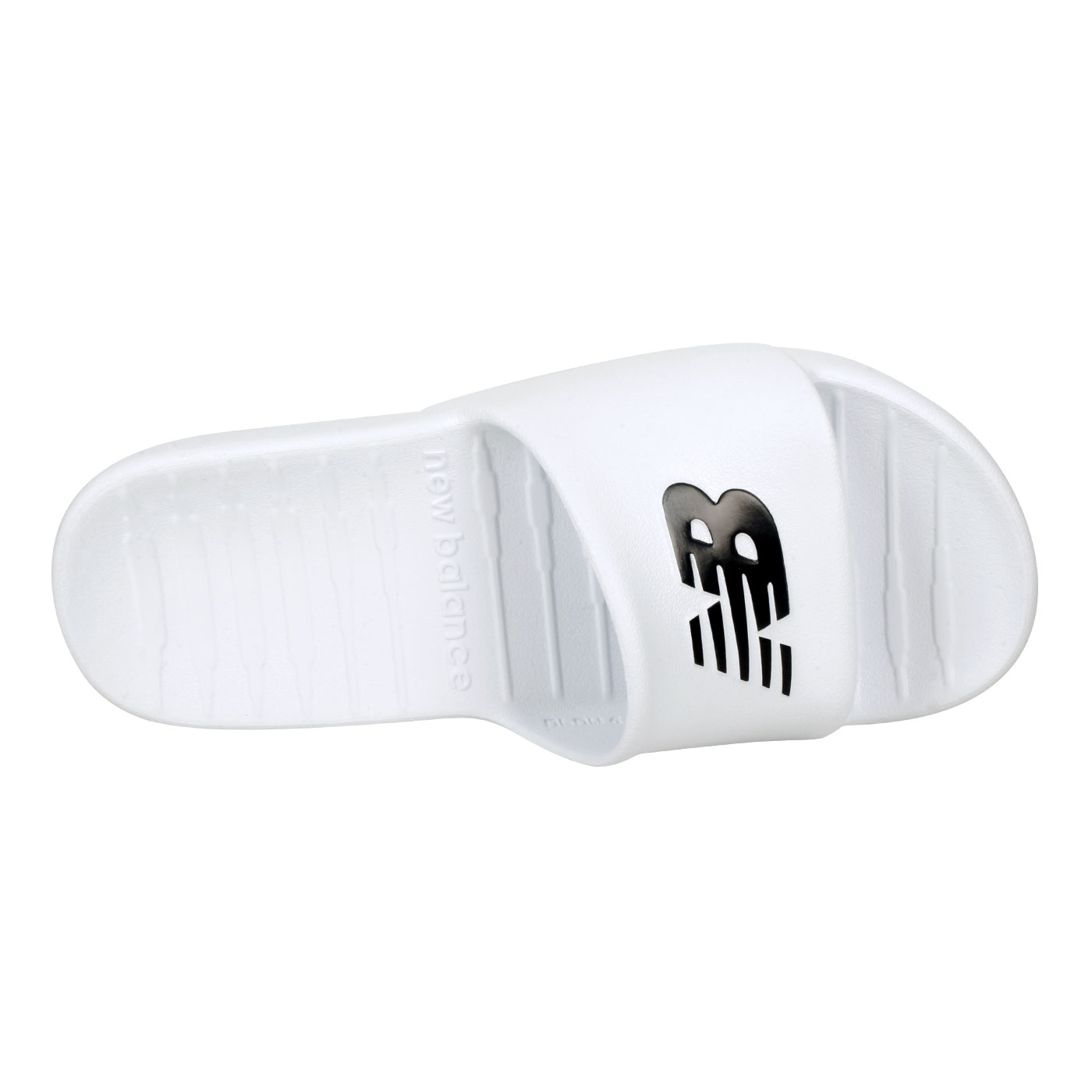 NEW BALANCE 男款拖鞋 SUF100TW - 白黑