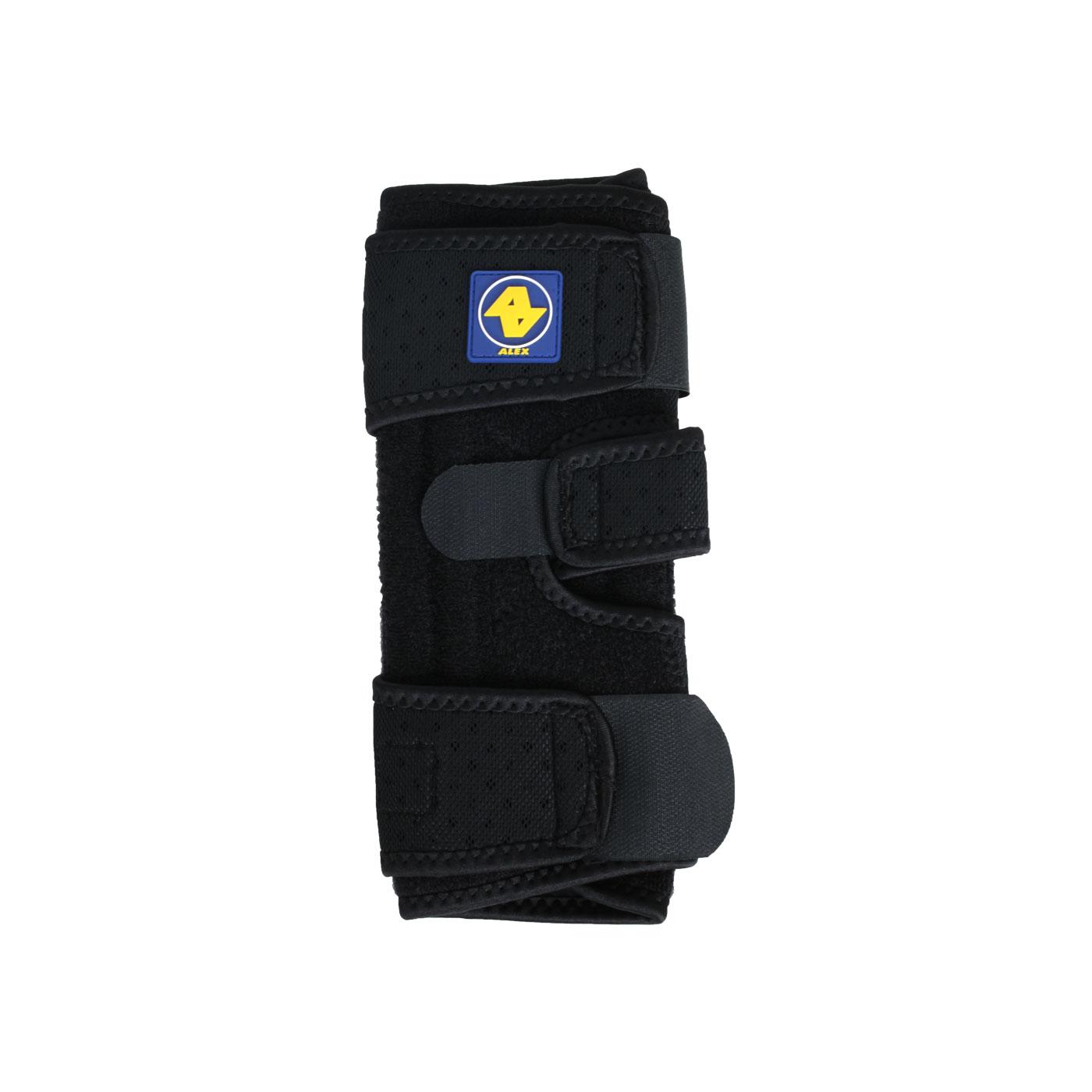 ALEX  矽膠雙側條護膝T-42 - 黑