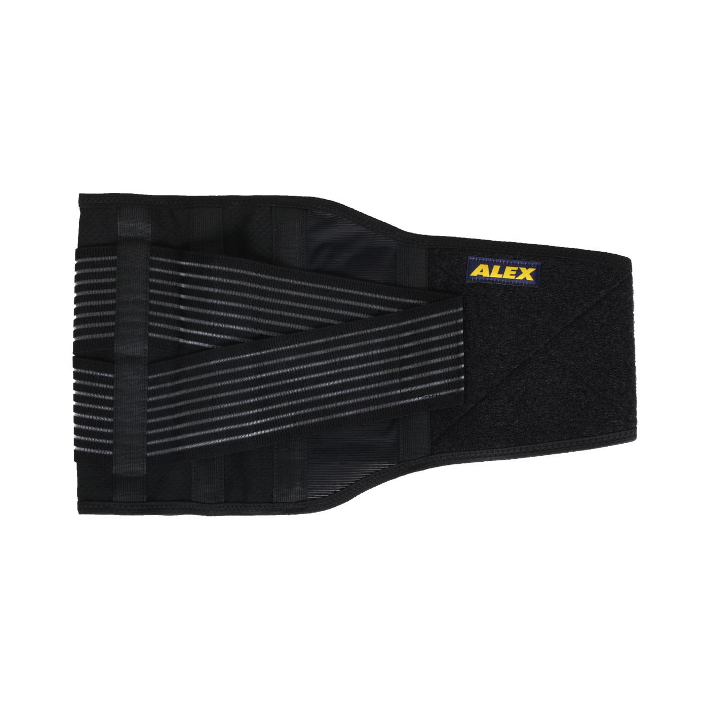 ALEX 纖薄型護腰 T-50 - 黑