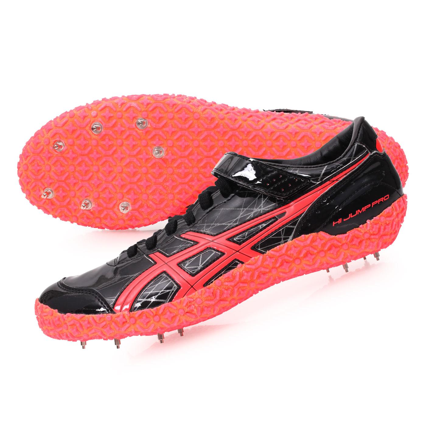 ASICS 日製田徑釘鞋  @HI JUMP PRO(L)@TFP352-9006 - 黑橘