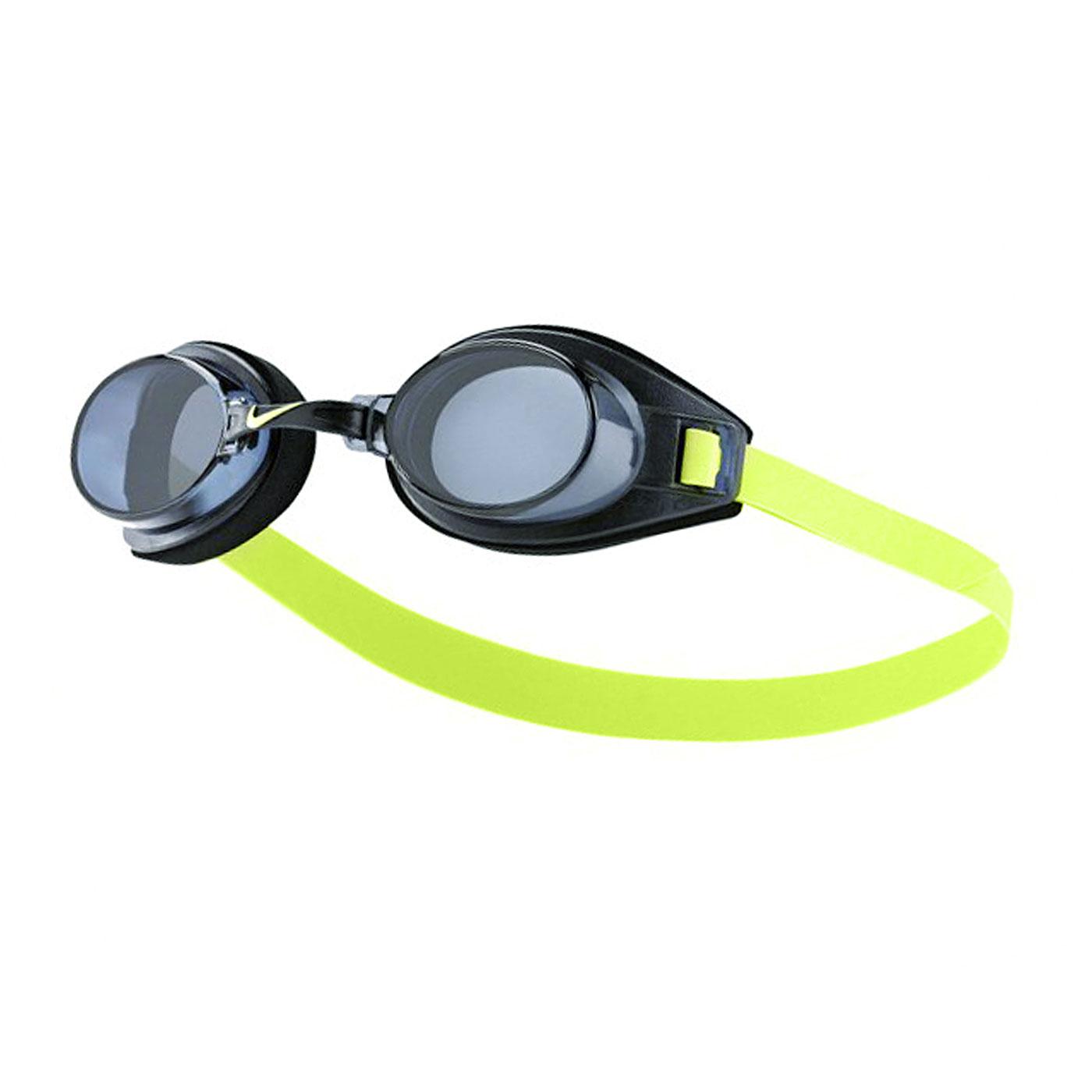 NIKE SWIM 成人休閒型泳鏡 TFSS0555-007 - 黑綠