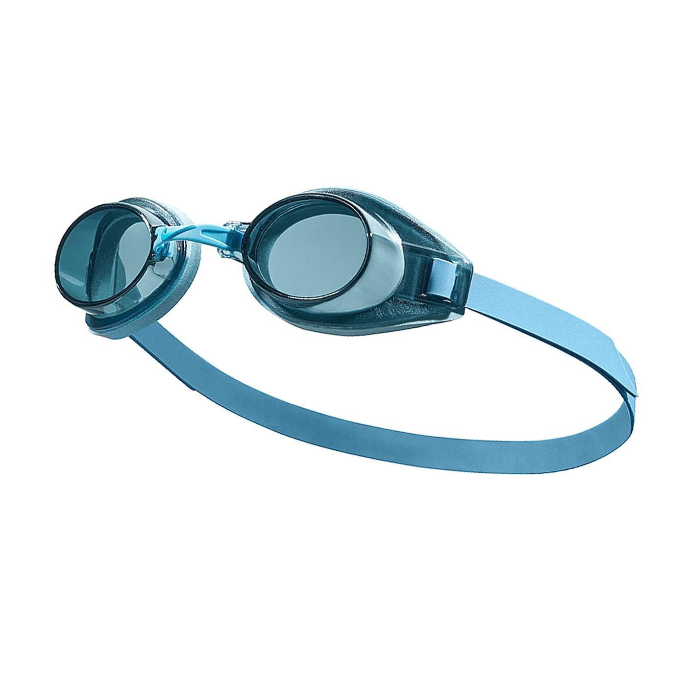 NIKE SWIM 成人休閒型泳鏡 TFSS0555-465 - 藍綠