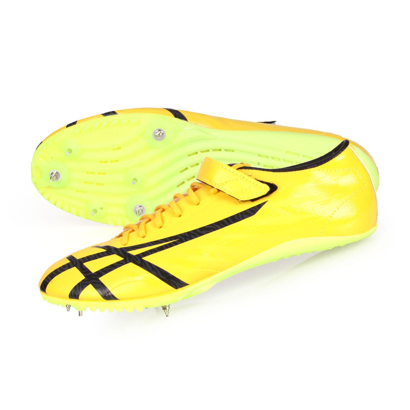 ASICS 田徑釘鞋(短距離)  @JETSPRINT@TTP527-750 - 黃黑