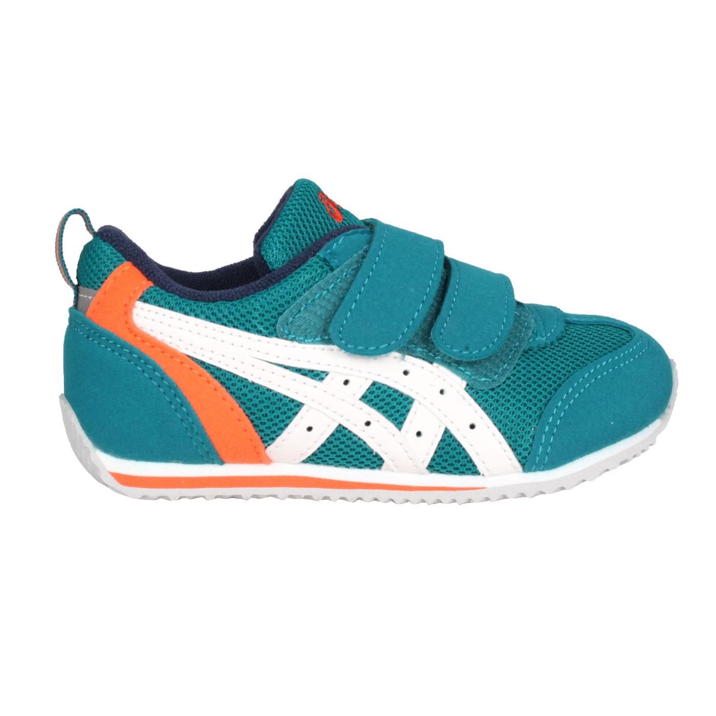 ASICS 小童運動鞋  @IDAHO BABY 3@TUB165-1901 - 深綠白橘