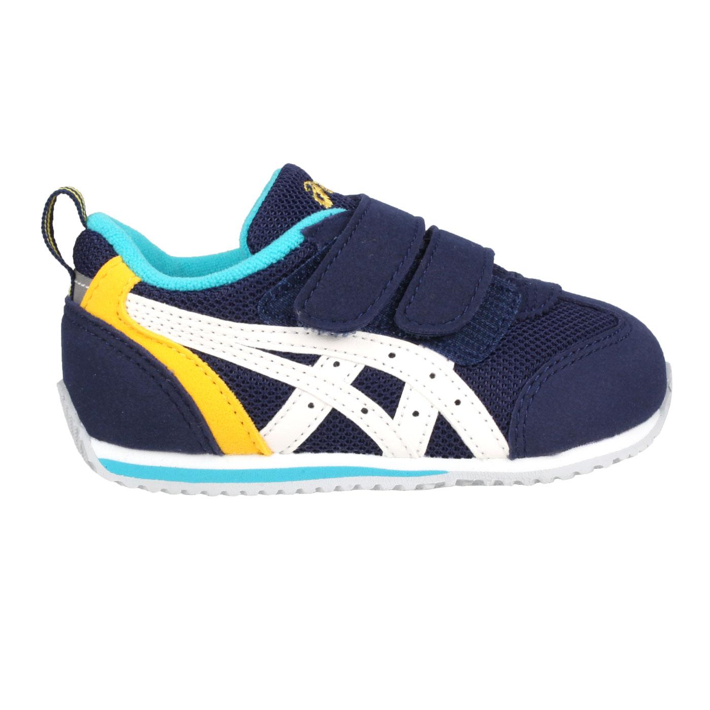 ASICS 小童運動鞋  @IDAHO BABY 3@TUB165-1901 - 丈青白黃