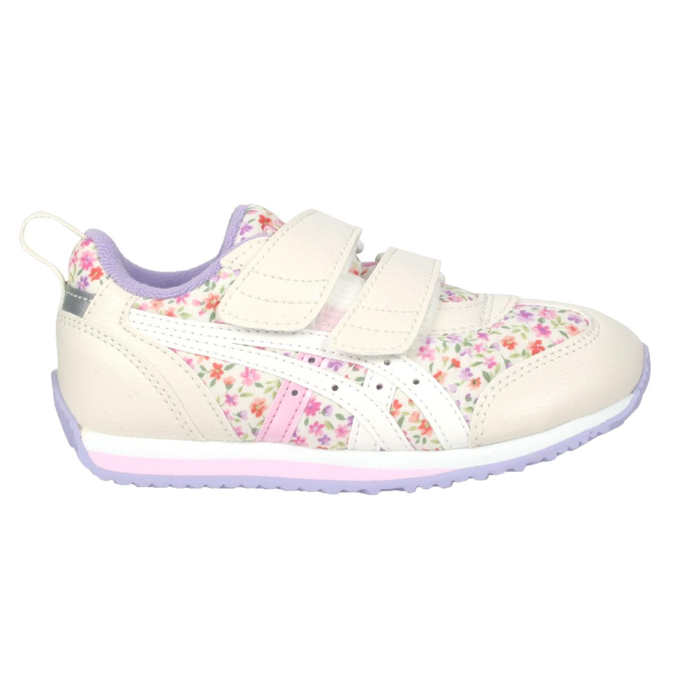 ASICS 中童休閒運動鞋  @IDAHO MINI CT 3@TUM187-500 - 米白紫粉